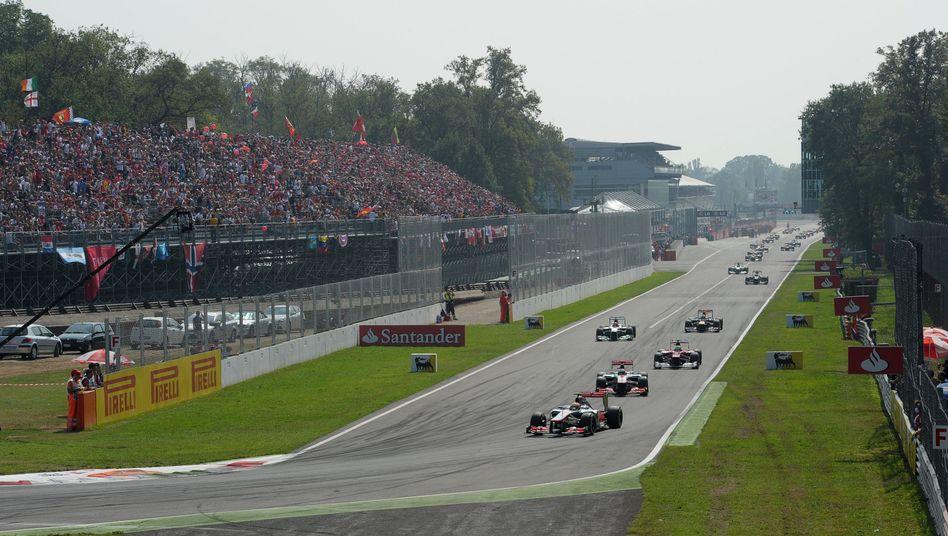 Rennstrecke in Monza