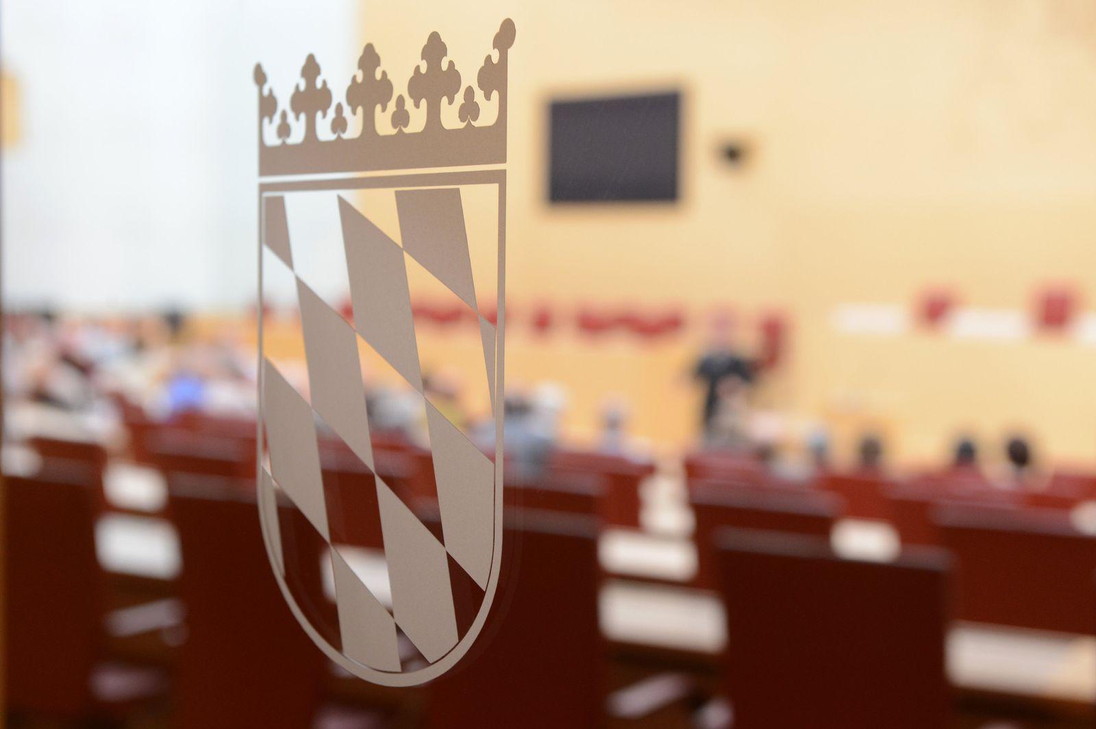 Bayerische Landtag Wappen