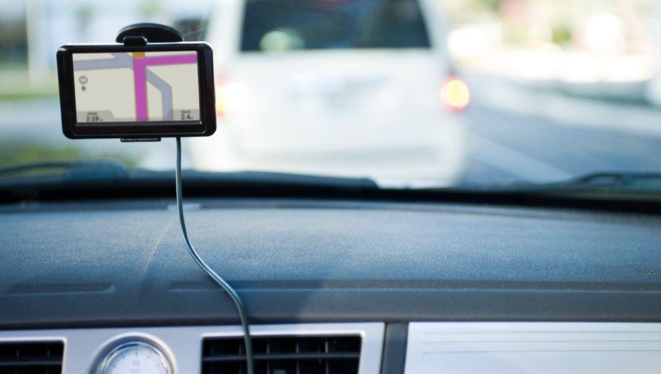 Ortsbestimmung per GPS: Es geht auch allein über den Geschwindigkeitsverlauf