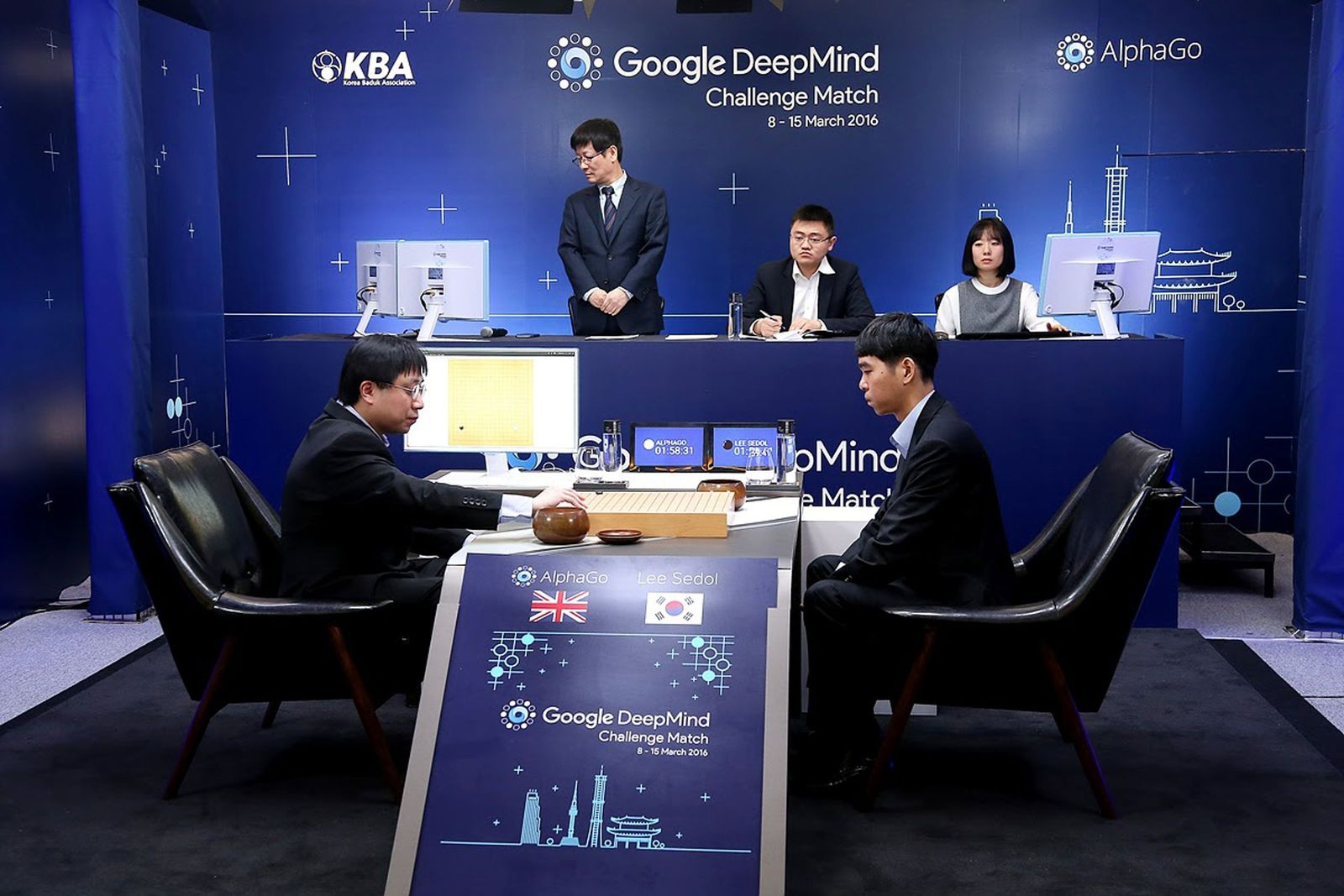 AlphaGo / Go-Duell / Lee Se-Dol