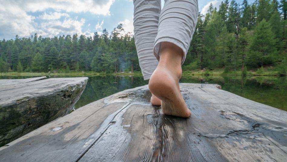Egal, ob auf einmal oder an mehreren Tagen mal kurz - Zeit in der Natur scheint gesund zu machen.