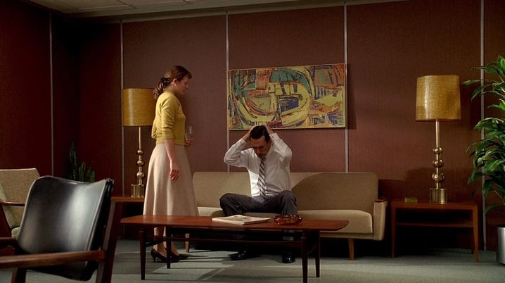 """Elisabeth Moss und Jon Hamm in """"Mad Men"""": Gemütsimprägnierung"""