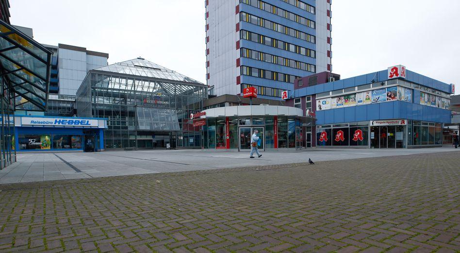 Geschlossene Geschäfte in Leverkusen