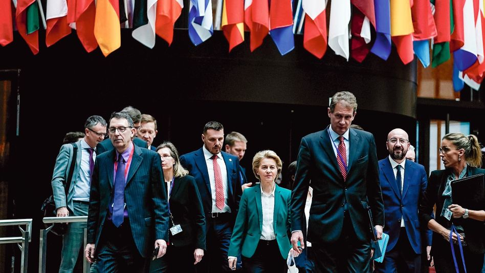 Europapolitikerin von der Leyen:Nie um Zuständigkeiten geschert