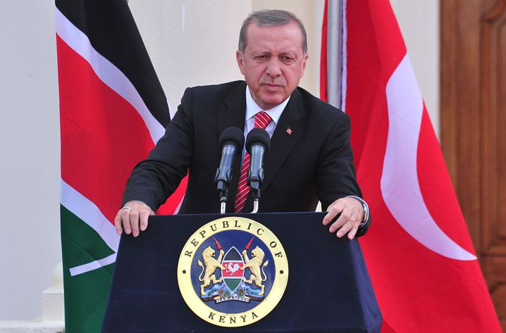 Präsident Erdogan in Kenia