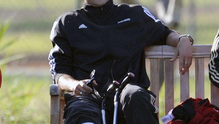 DFB-Kapitän Ballack: Verletzt verpflichtet
