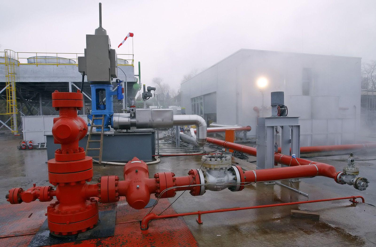 Geothermiekraftwerk