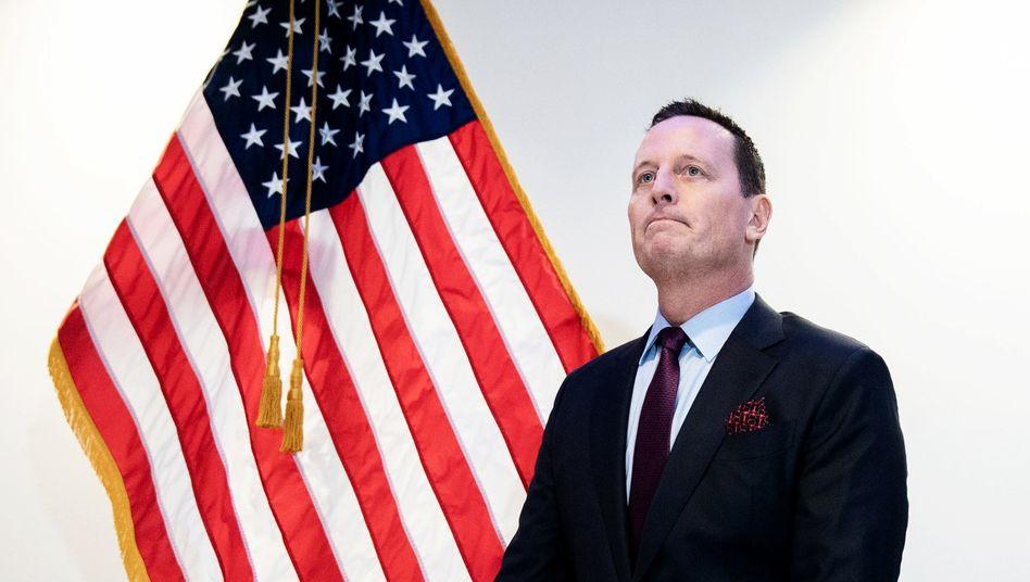 Richard Grenell: Botschaftertätigkeit nebenbei aus Washington?