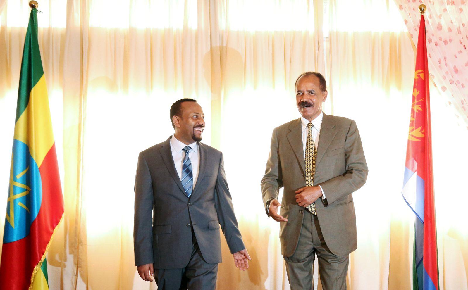 Isaias Afewerki Abiy Ahmed Eritrea Äthiopien
