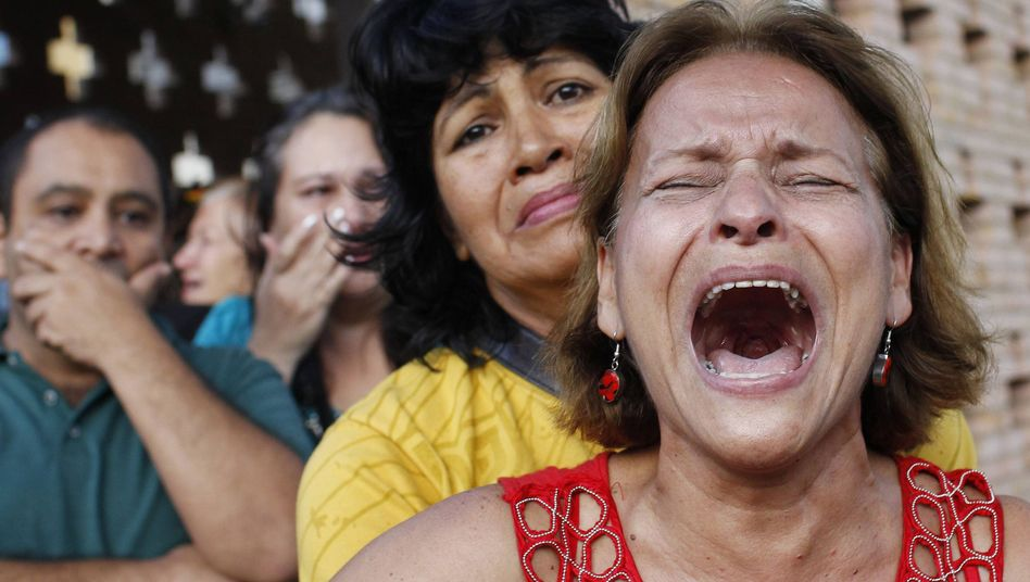 Venezuela has seen an outpouring of grief after the death of President Hugo Chavez.