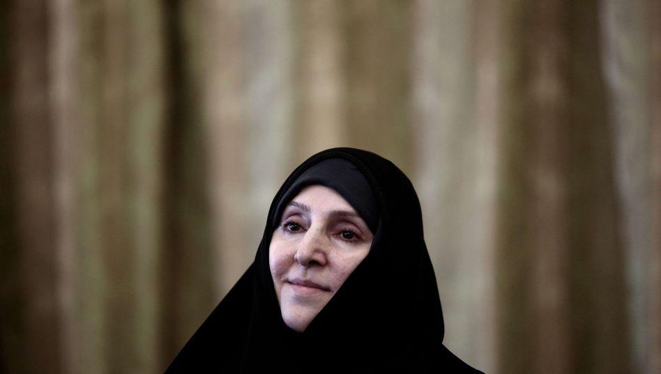 """Diplomatin Afkham: """"Vertrauen in Frauen"""""""