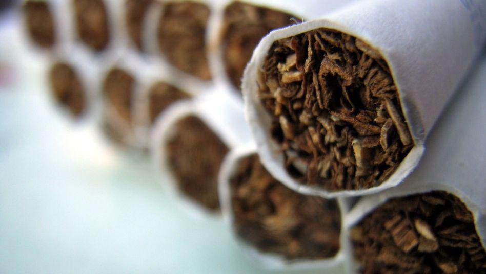 Zigaretten: Versteckte Additive in Papier und Filter
