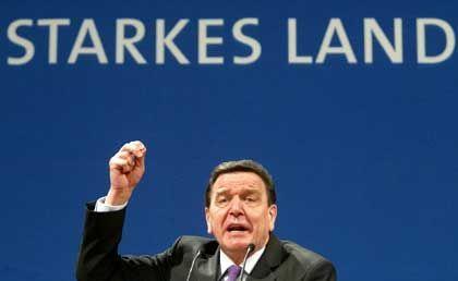 Kanzler Schröder: Widerspruch aus der Union