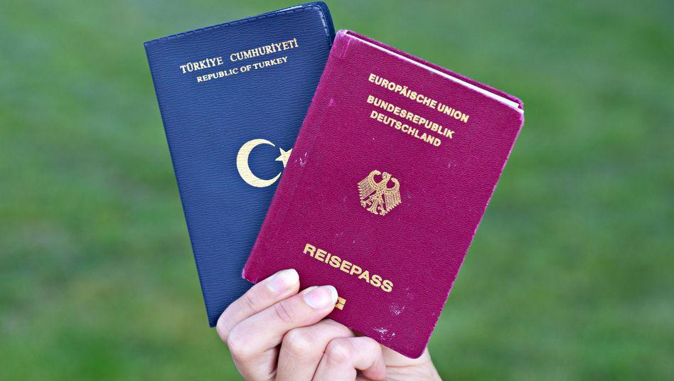 Türkischer Pass, deutscher Pass
