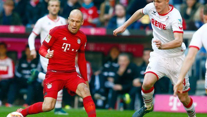 Bundesliga: Sieben Tore in Leverkusen, Robben-Treffer gegen Köln