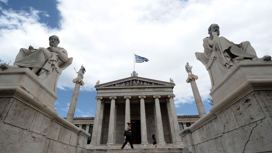 Zentrum von Athen: Furcht vor dem Euro-Austritt