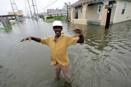 """New Orleans nach dem Hurrikan: """"Gott hat uns gerettet"""""""