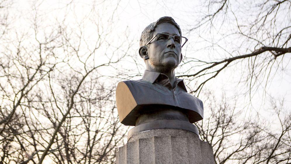 New York: Das kurze Leben der Snowden-Büste