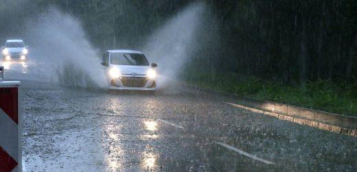Wetter: DWD warnt vor extremem Starkregen in Norddeutschland