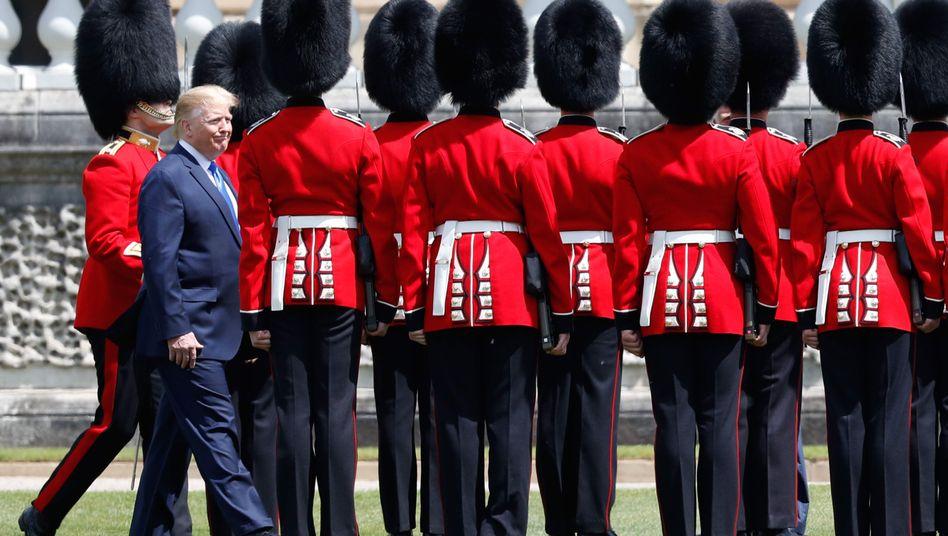 US-Präsident Donald Trump während eines England-Besuchs im Juni 2019