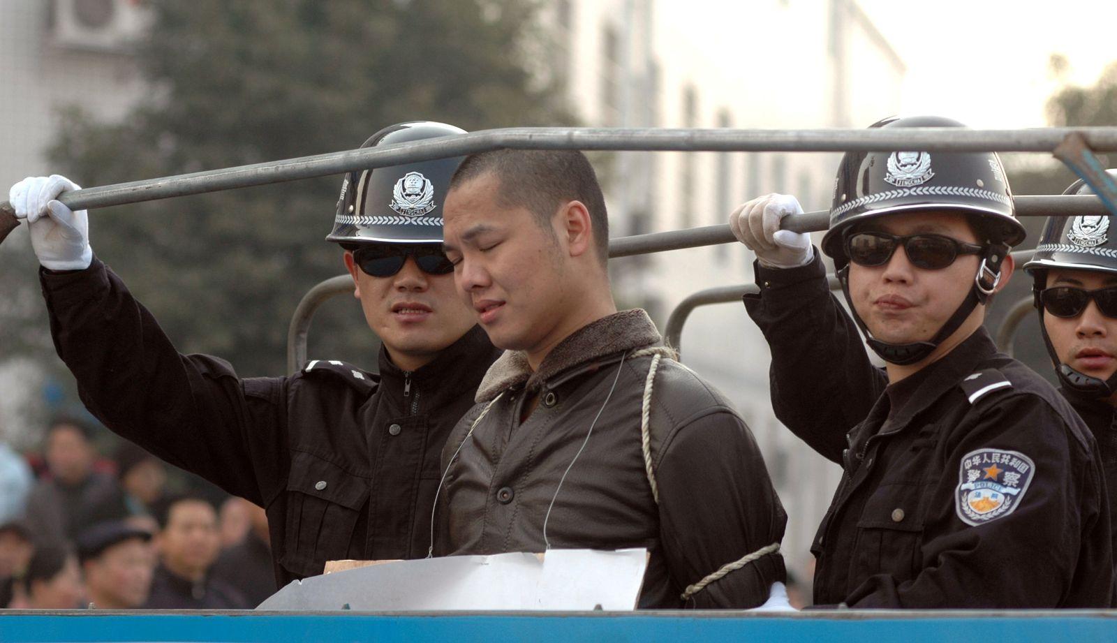 China / Hinrichtung