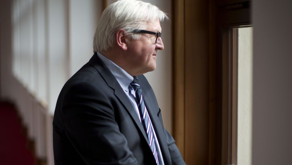 German Foreign Minister Frank-Walter Steinmeier believes Germany must take a more active role on the international stage.