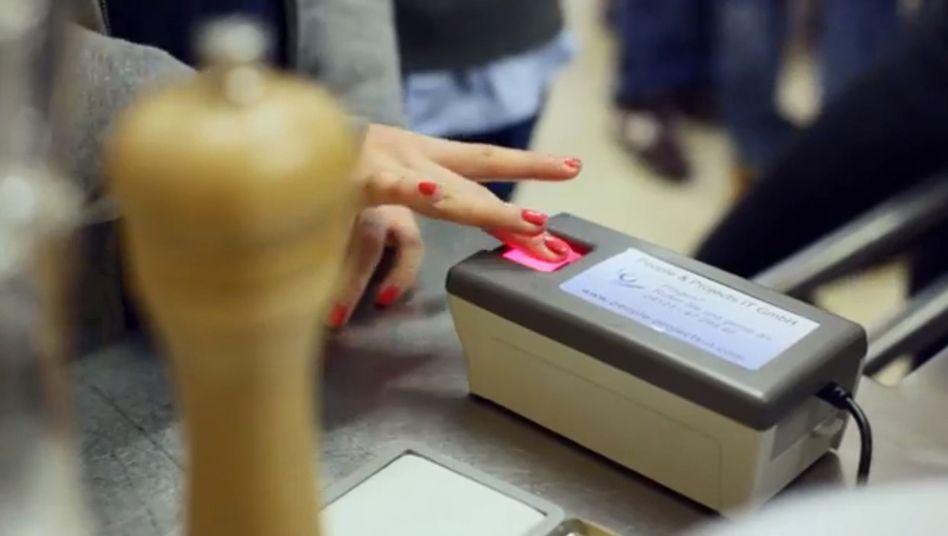 Essensbestellung per Fingerabdruck: Cool oder problematisch?