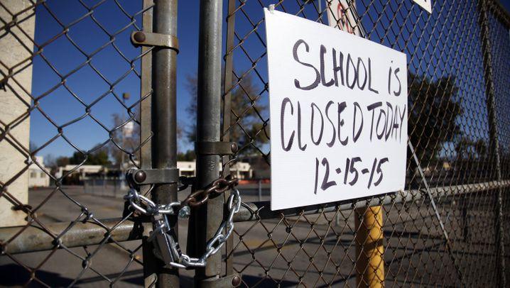 """Los Angeles: """"Die Schule bleibt heute geschlossen"""""""