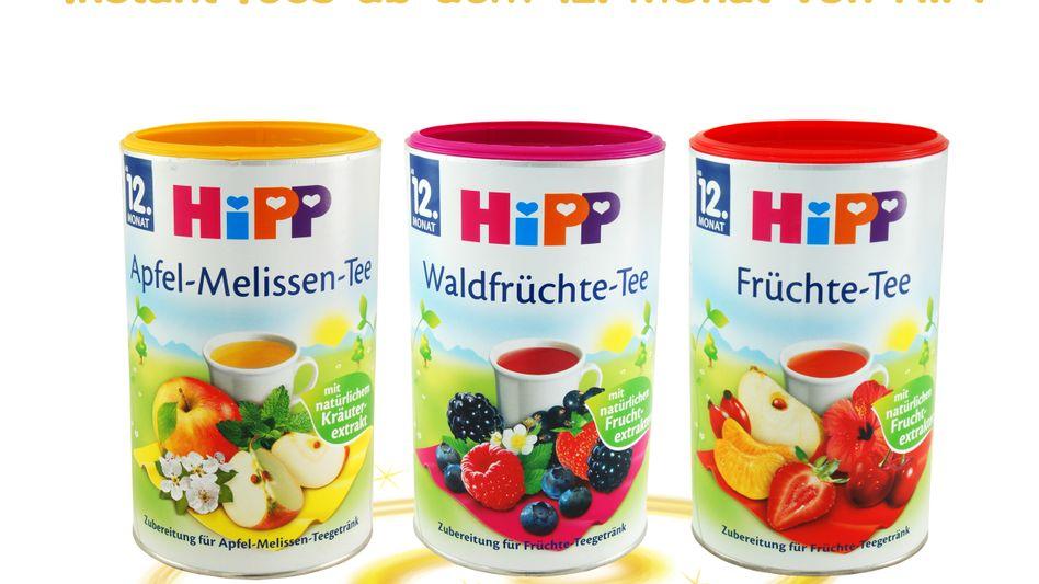 Instant-Tees für Kinder: Verbraucher vergeben Negativpreis an Hipp
