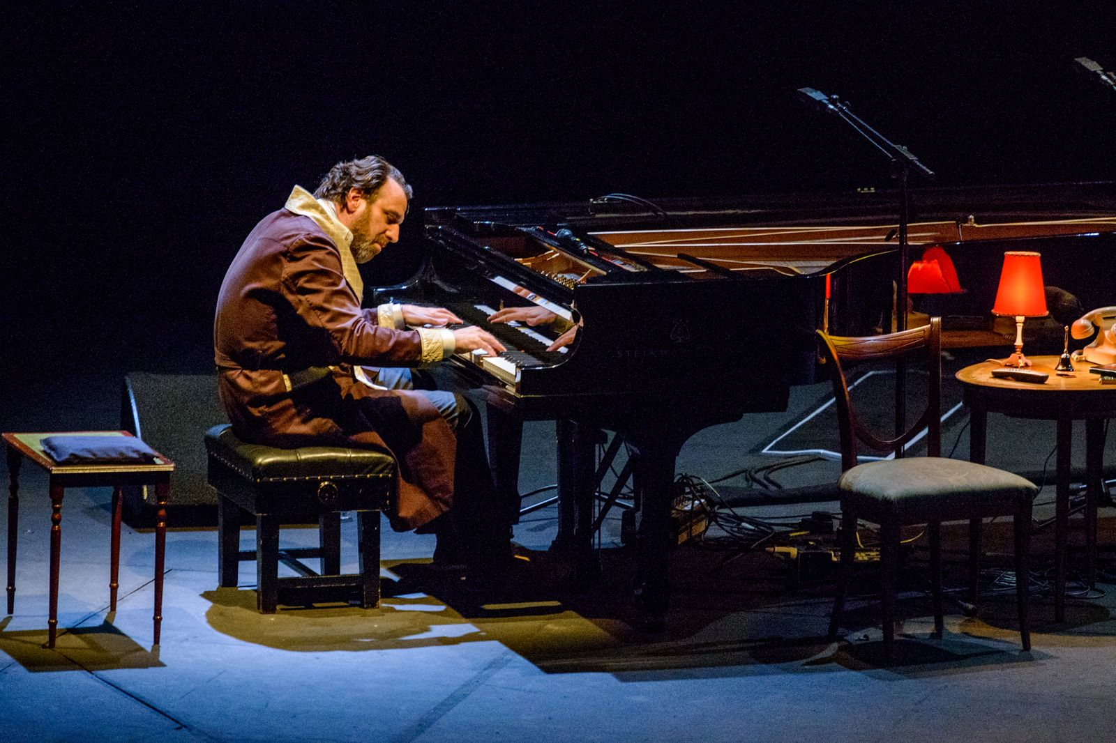 Jarvis Cocker and Chilly Gonzales Perform At The Barbican Centre