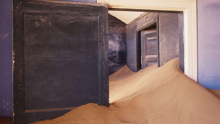 Geisterstadt Kolmanskuppe: Das Funkeln im Sand