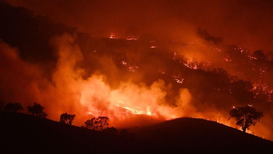 Feuersbrunst in Australien: neuer Mega-Brand