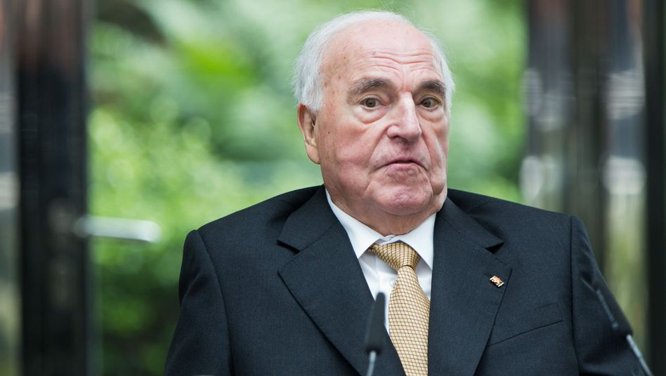 Helmut Kohl im Jahr 2013
