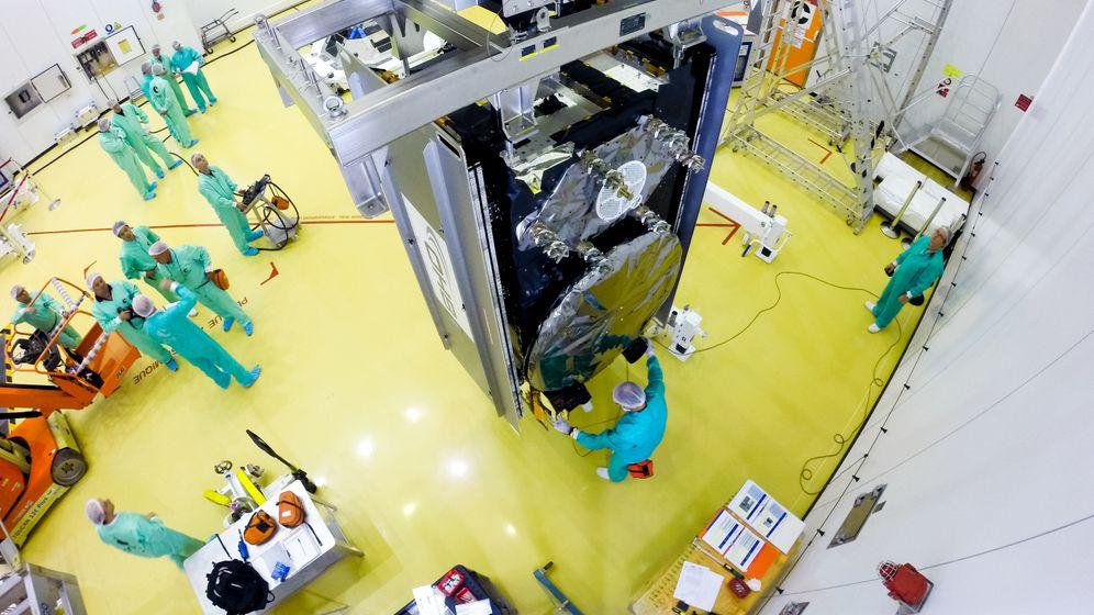 Galileo: Wegweiser im Weltraum
