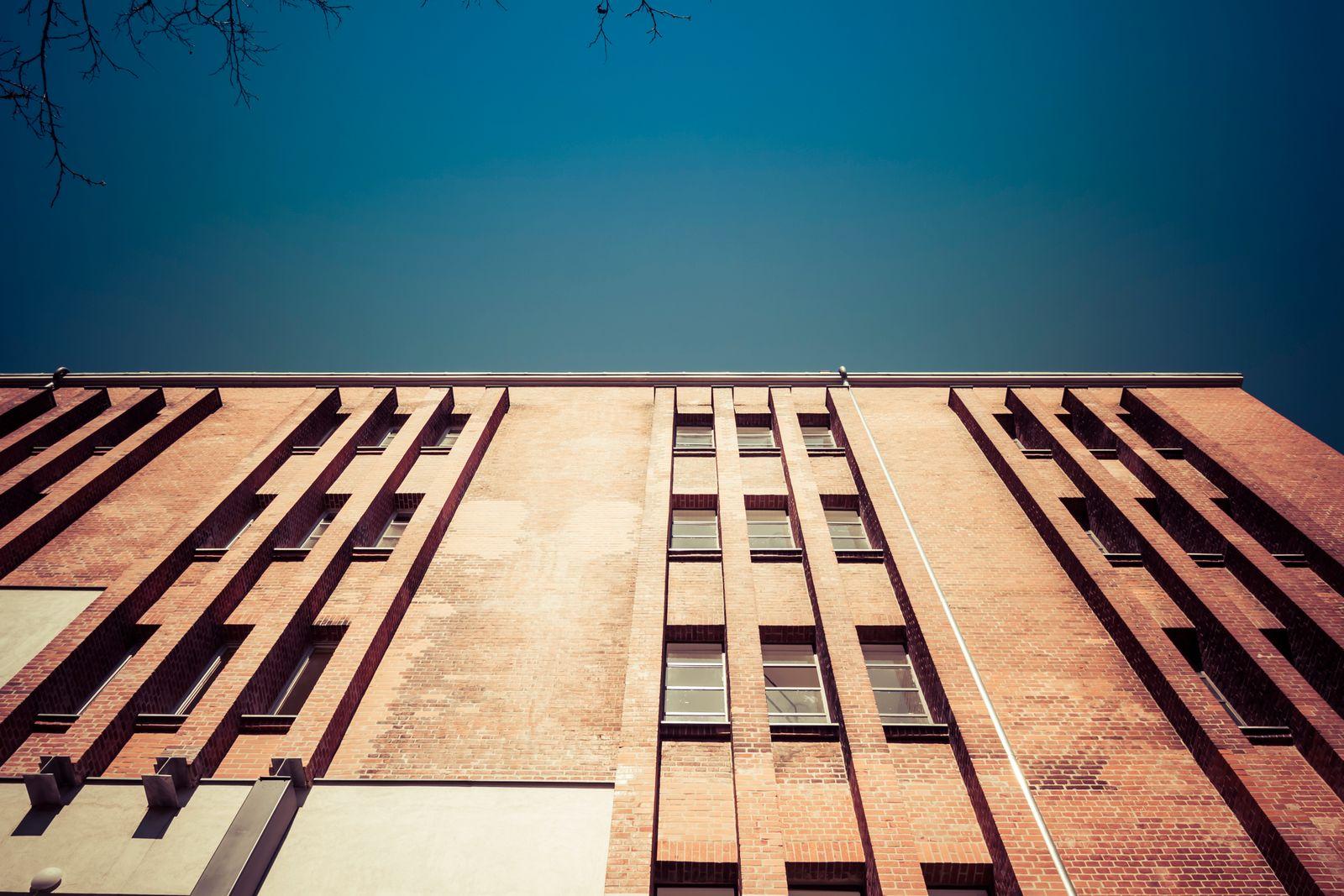 old factory building in Berlin, Germany