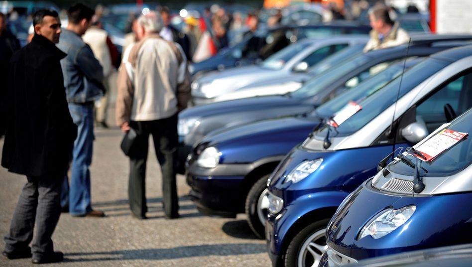 Gebrauchtwagenmarkt in Essen