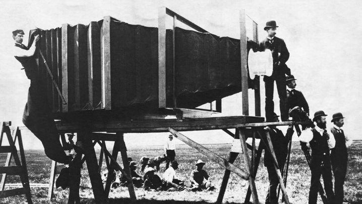 Erfinder und Fotograf: Panoramabilder von der größten Kamera der Welt