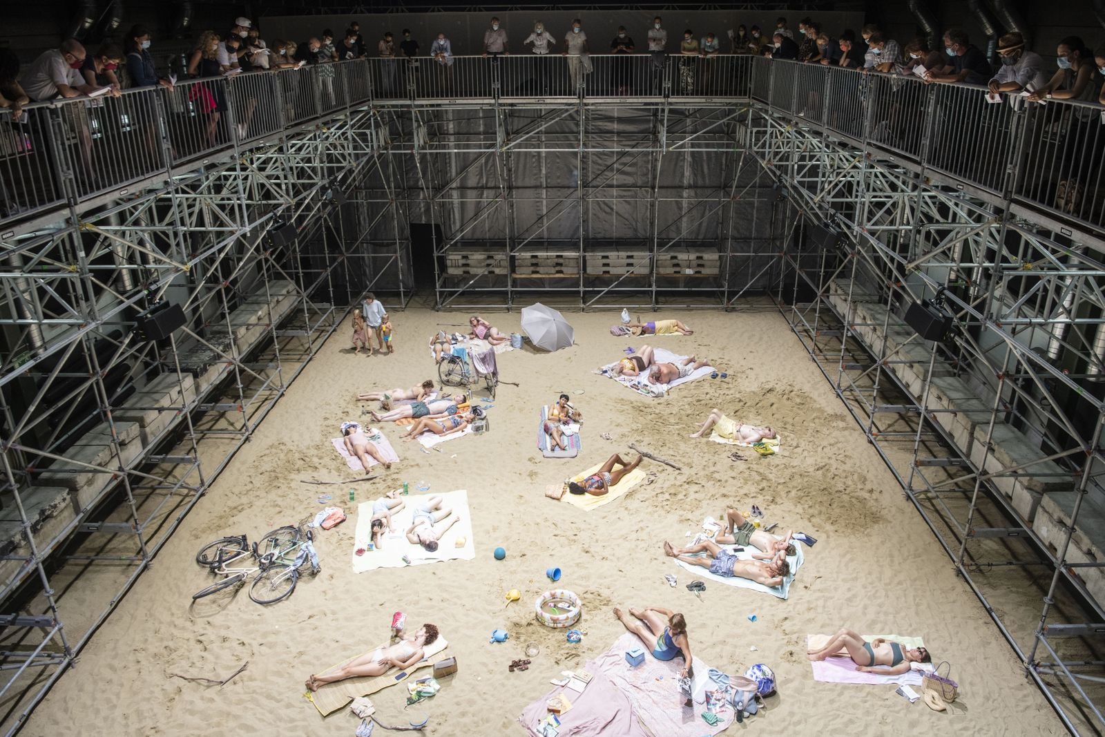 Musical installation Sun and Sea premieres in Zurich, Zuerich, Switzerland - 13 Aug 2020