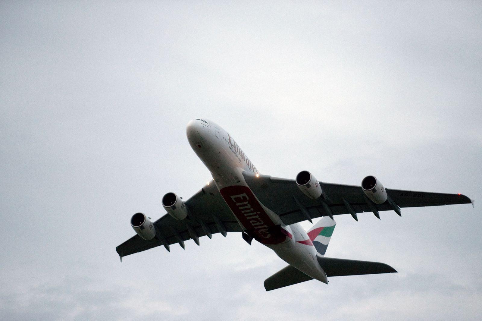 NICHT VERWENDEN A380 Emirates
