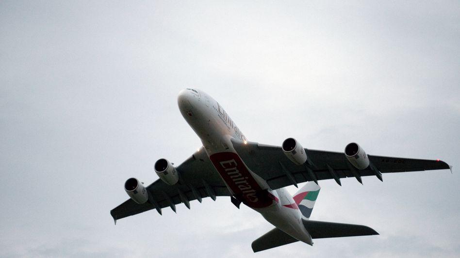 Emirates-A380 (Archiv): Motorschaden bei Flug von Sydney nach Dubai