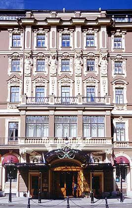 Grand Hotel Europa - Luxushotel in barocker Architektur