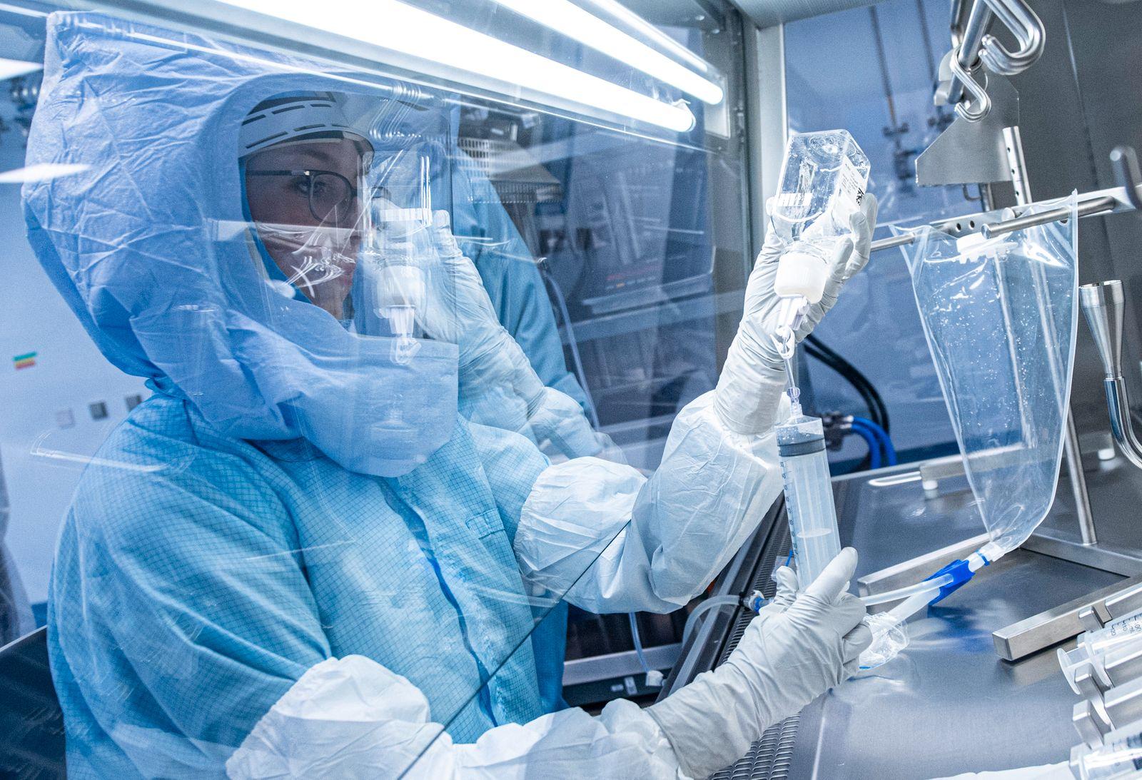 Herstellung des Corona-Impfstoffes von Biontech