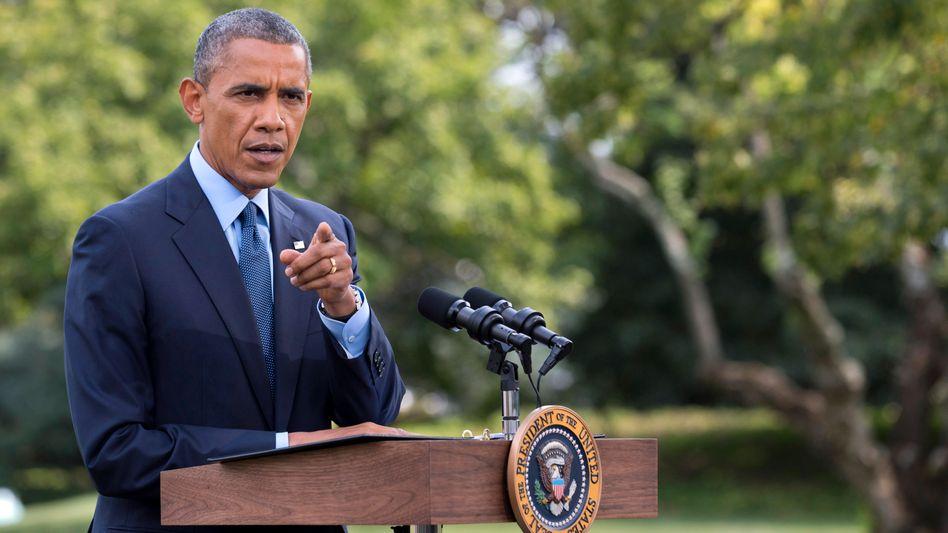 """Ukraine-Krise: Obama verkündet Sanktionen mit """"mehr Biss"""""""