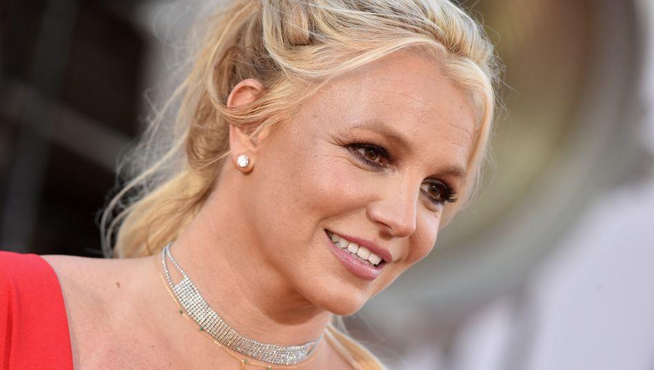 "Britney Spears während der Premiere des Tarantino-Films ""Once Upon a Time in Hollywood"" im Juli 2019"