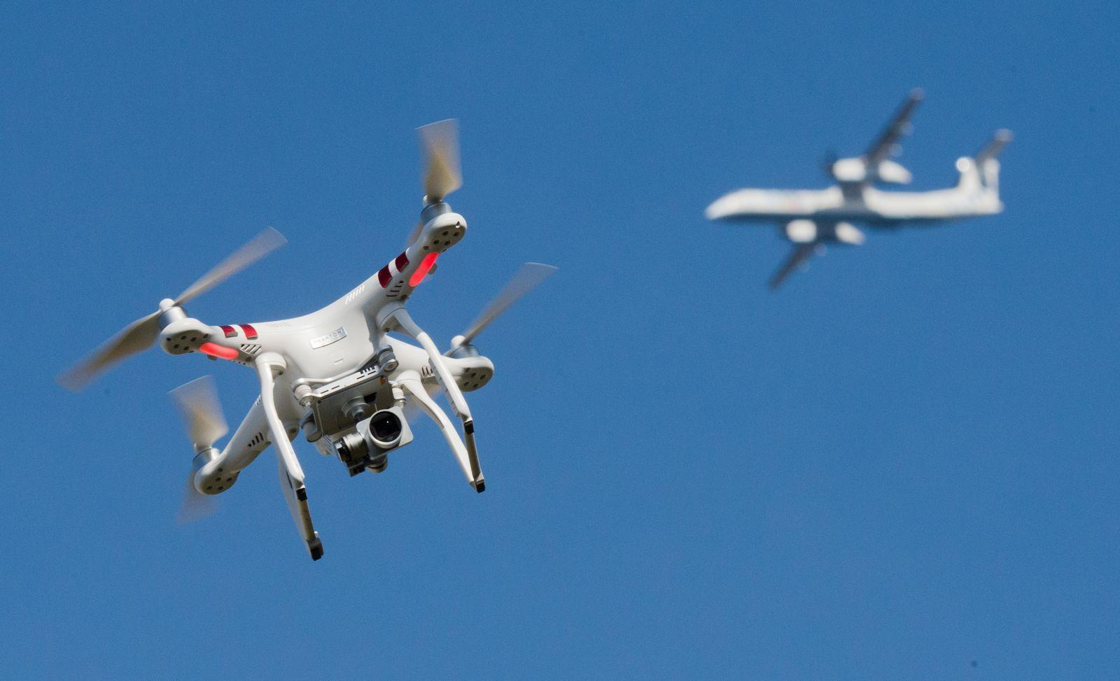 Drohnen/ Flughafen
