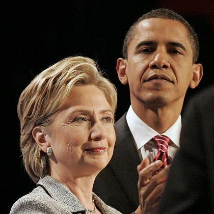 Rivalen Clinton, Obama: Drogenerfahrungen als Wahlkampfthema
