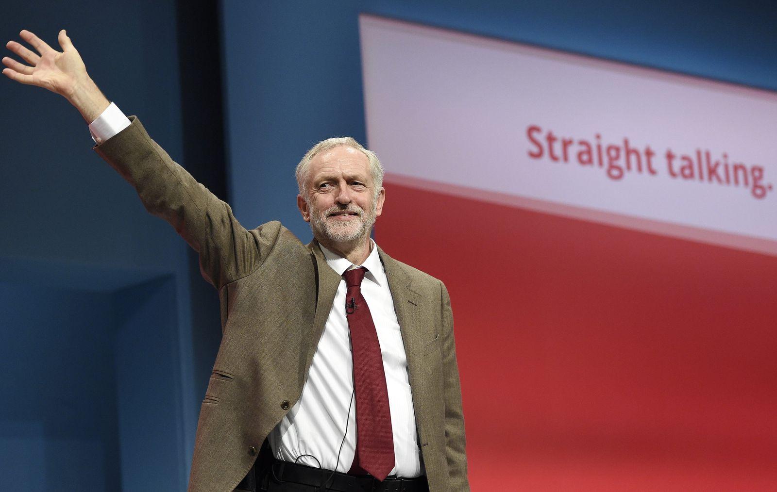Corbyn Labour Parteitag