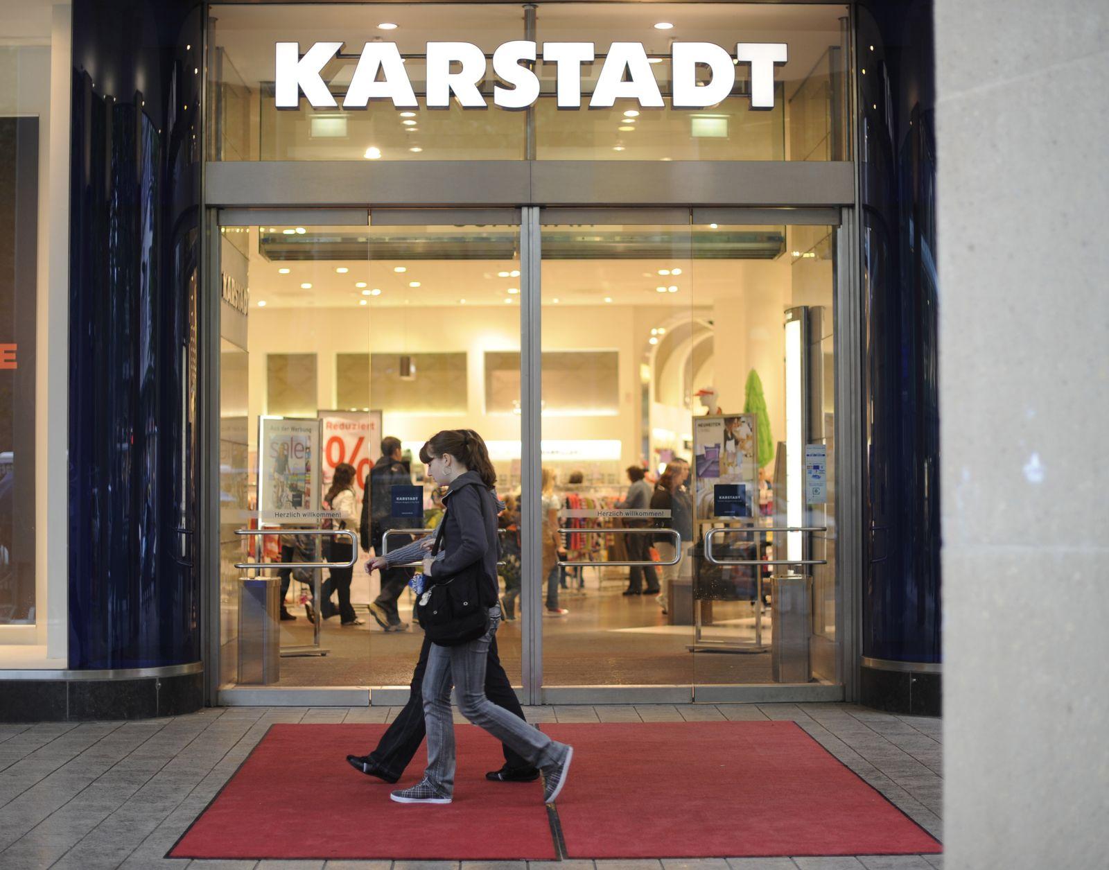 DEU Arcandor Karstadt Insolvenz