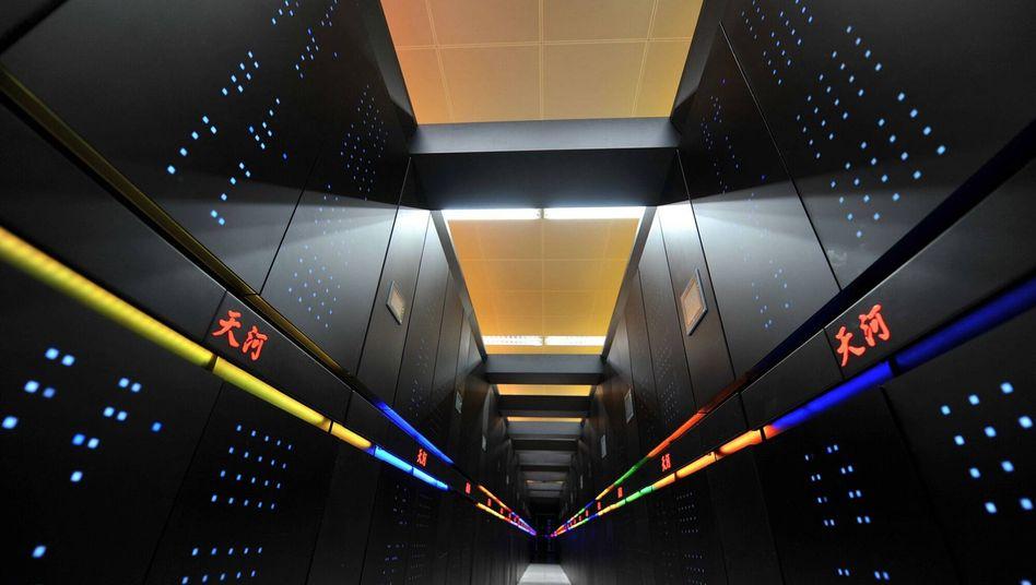 Supercomputer Tianhe-2: Fast doppelt so schnell wie die Nummer 2
