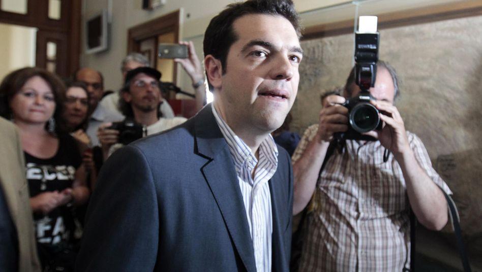 Linken-Chef Tsipras nach dem Wahlsieg: 72 Stunden Zeit für das fast Unmögliche